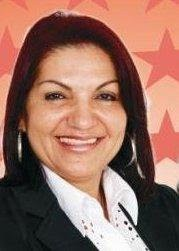 Ex-prefeita de Olho d'Água das Cunhãs, Lauraci Martins de Oliveira, a Lalinha.