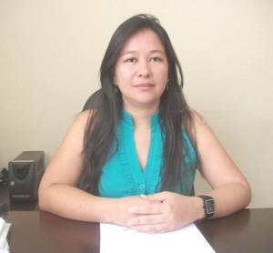 Adriana Luriko Kamada Ribeiro (PV), prefeita de Amarante do Maranhão.