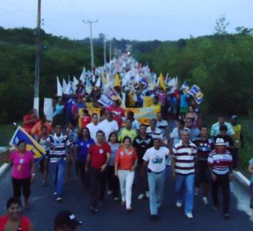 Caminhada de Mary Guerreiro em Guimarães volta a arrastar multidões