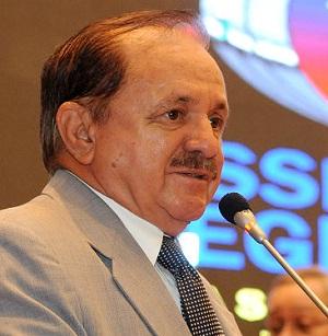 O prefeito eleito de Viana, deputado Chico Gomes (DEM)