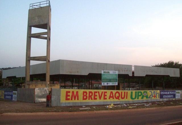 UPA de Açailândia já em obras; aprovada após esforços do Deputado Federal Hélio Santos.