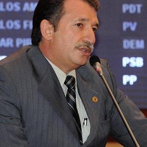Deputado Magno Bacelar (PMDB), vice-líder do governo na Assembleia Legislativa.