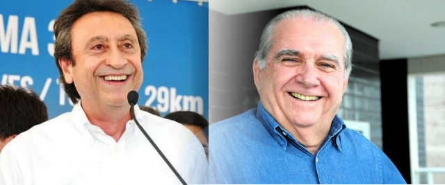 Ricardo Murad e João Castelo, uma nova parceria.