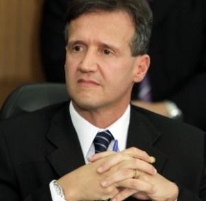 O secretário de Estado da Segurança Pública, Aluísio Mendes.