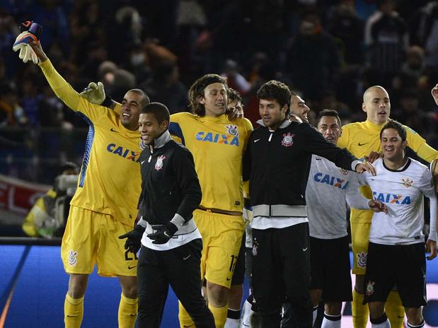 De forma incontestável, o mundo é do Corinthians. Foto: Ricardo Matsukawa/Terra