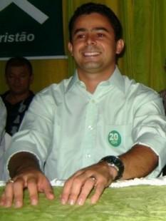 O prefeito eleito em Barra do Corda, Eric Costa. Foto: Reprodução