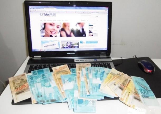 A empresa Ympactus Comercial Ltda. ME, conhecida pelo nome fantasia Telexfree, com sede no Brasil no Espírito Santo, diz atuar com prestação de serviços de telefonia VoIP [por meio da internet]. Foto: Reprodução