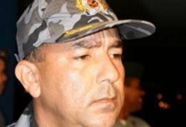 Coamandante da PM, coronel Franklin Pacheco