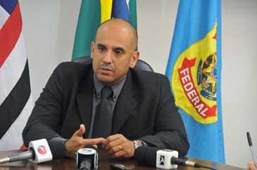 Superintendente em Exercício da Polícia Federal, Alexandre Lucena