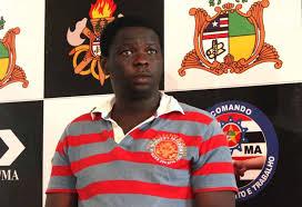 Kinglsley Ify Umeilechukwu, médico nigeriano apresentado à imprensa na SSP-MA