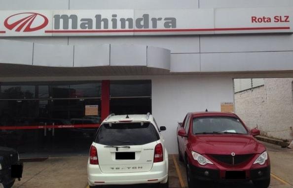 Loja da Mahindra.
