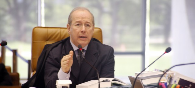 O ministro Celso de Mello, do Supremo Tribunal Federal. Foto: Gervásio Baptista