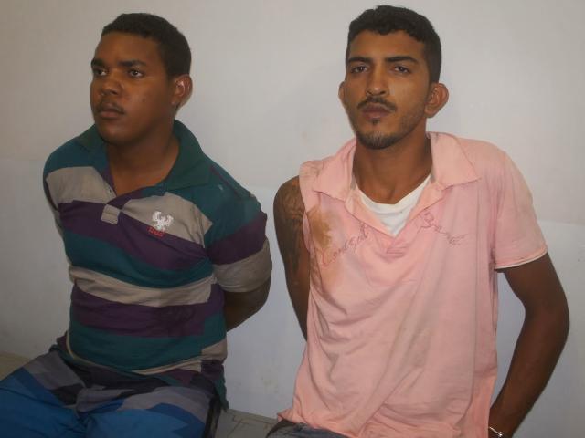 Dupla suspeita de praticar assaltos em bancos do Tocantins