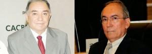 Empresário João Rolim e ex-prefeito Valdevino Cabral