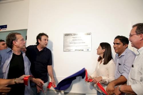 Inauguração do Hospital Geral de Timbiras