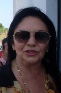 Prefeita de Anapurus, Cleomaltina Moreira Monteles, a Tina