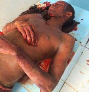 """Genilson Gomes Nunes (vulgo """"nêgo"""") foi morto pela população"""