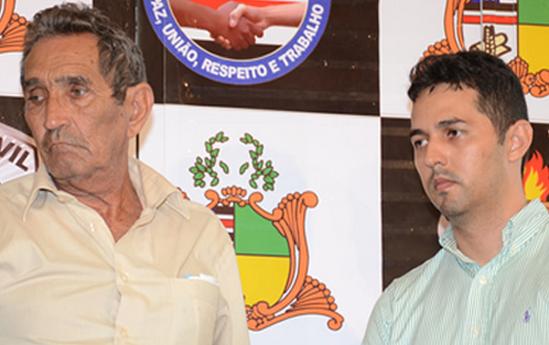 José de Alencar Miranda, 72 anos, e Gláucio Alencar, 34 anos. Pai e filho permanecem presos