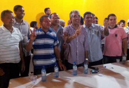 Max Barros e Paulo Marinho Junior, ambos do PMDB farão dobradinha em Coelho Neto