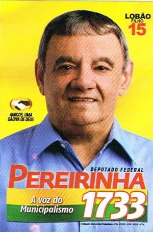 Deputado Federal Pereirinha - 1733
