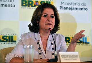 Ministra do Planejamento, Orçamento e Gestão, Miriam Belchior