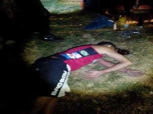 Fábio Santos Moraes, de 26 anos, morto no bairro Areinha com vários disparos de arma de fogo