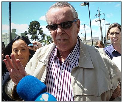 Adarico Negromonte se entregou na Policia Federal em Curitiba na última segunda (24)