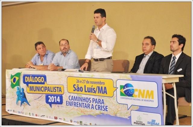 Gil Cutrim disse que as reivindicações dos gestores estarão na pauta de trabalho da CNM para 2015