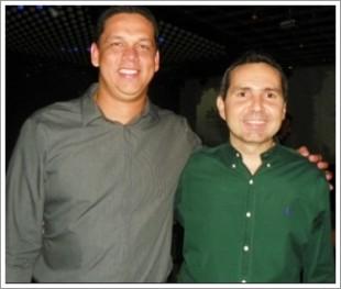 Lula Fylho e Guilherme Marques, agora secretários de Governo e de Turismo, respectivamente
