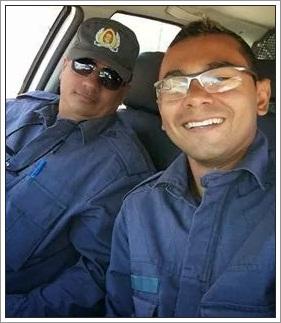 Policiais militares feito reféns
