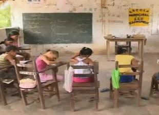 A triste realidade das escolas de Matões do Norte