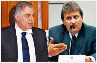 Paulo Roberto Costa e o doleiro Alberto Youssef