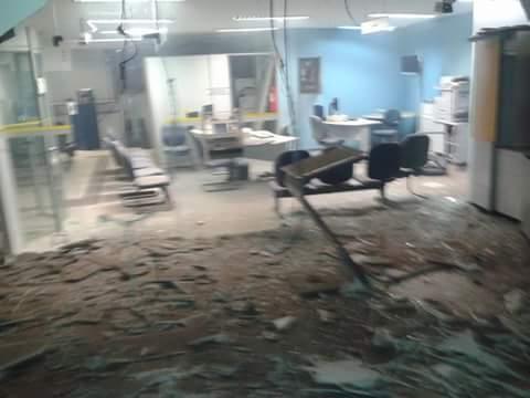 Os Explosivos danificaram Toda a Estrutura do Prédio