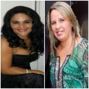 Mara Silva Diniz faleceu em São Luís e Regina Barros (à direita) morreu em Imperatriz