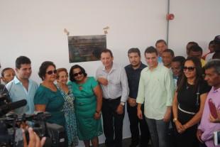 Gil e Glalbert prestigiaram a programação festiva e inaugurações de novas obras em Codó.
