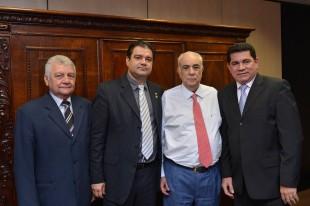 Alan Linhares e o Ministro dos Transportes