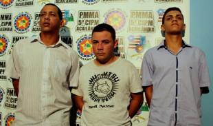 Os três suspeitos são natural de Açailândia