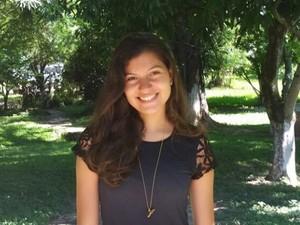 Paula Freire, 19 anos, tirou nota máxima em redação