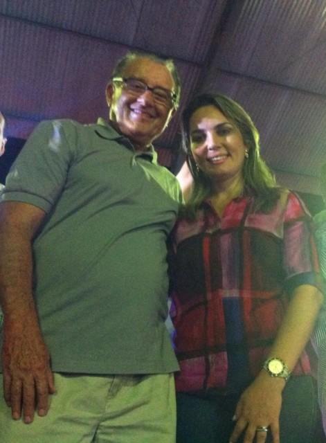 Simone Limeira e José Reinaldo Tavares