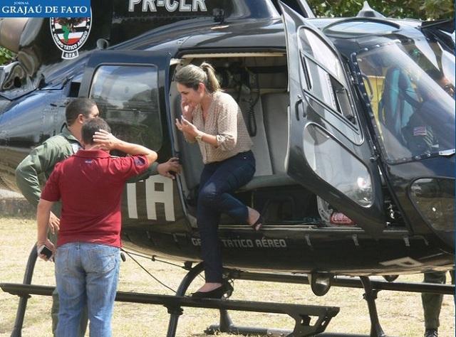 Simone-Limeira-no-helicóptero-do-GTA 1