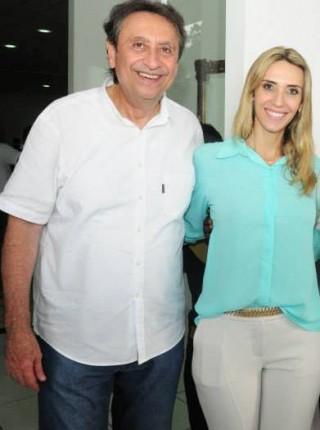 Ricardo Murad e sua filha deputada estadual Andrea Murad