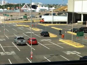 Estacionamento do Shopping da Ilha