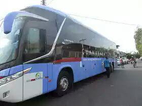 Ônibus seguia para Teresina quando foi interceptado próximo a Tuntum