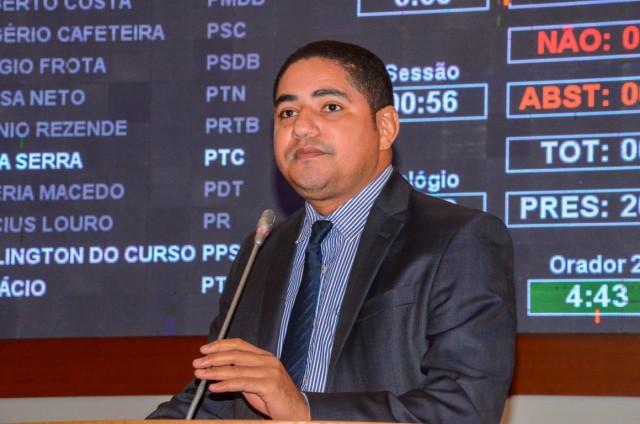 O Deputado Zé Inácio cobra rigor na investigação da morte de Ana Cláudia Barros, barbaramente assassinada.