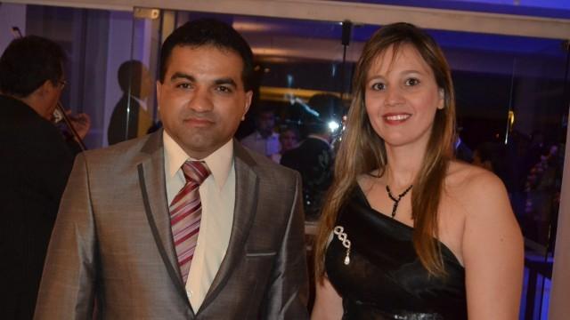 Deputado Josimar de Maranhãozinho e sua esposa Detinha prefeita de Centro do Guilherme