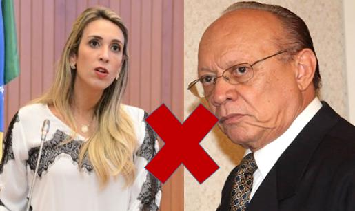 Deputada Andrea Murad e Senador João Alberto