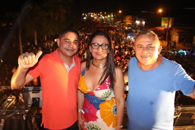 Deputado Zé Inácio prestigiou festa de 19 anos de Itinga do Maranhão.