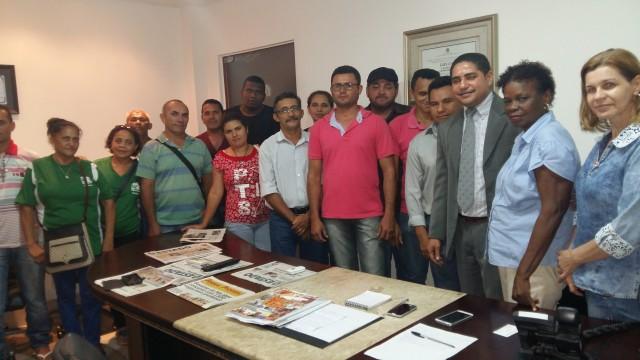 Zé Inácio será o intermediador entre representantes da Educação no Campo e Governo do Estado.
