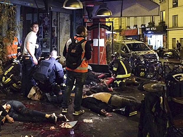 Ataque em um dos restaurantes de Paris