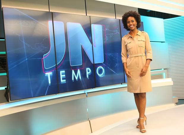 Jornalista Maria Julia Coutinho ocupa o cargo no horário nobre desde abril